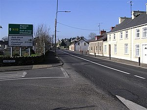 Killygordon - A view of Killygordon village.