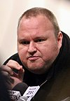 Kim Dotcom, founder of Megaupload
