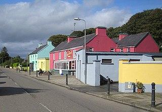 Kiskeam Village in Munster, Ireland