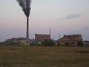 Kiviõli - Image: Kivioli chemical plant (2)