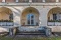 Klagenfurt Welzenegg Krastowitz 1 Schloss Krastowitz Gartenportal mit Barockkartusche 29122016 5891.jpg