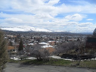 Klamath Falls, Oregon City in Oregon, United States