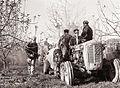 Kmetijski inštitut Slovenije iz Ljubljane opravlja z Agrotehniko poizkuse in demonstracije z novimi stroji za škropljenje Ferrari 1959.jpg