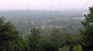 Sharp's Ridge - North Knoxville viewed from Sharp's Ridge Memorial Park