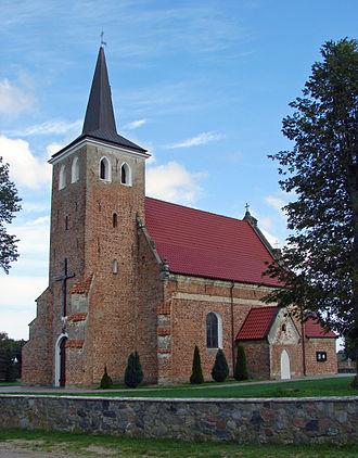 Starzyno, Pomeranian Voivodeship - Saint Archangel Michael Church
