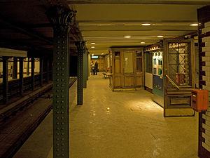 Kodály körönd (Budapest Metro) - Eastbound platform