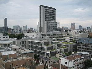 Higashi, Shibuya - Higashi, Shibuya campus