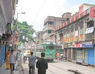 Burrabazar - Rabindra Sarani is considered an extension of Burrabazar