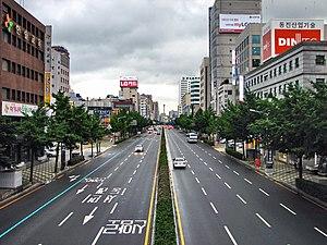 Dong District, Busan - Image: Korea Busan Street 02