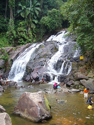 Kota Tinggi - Kota Tinggi Waterfalls at Lombong