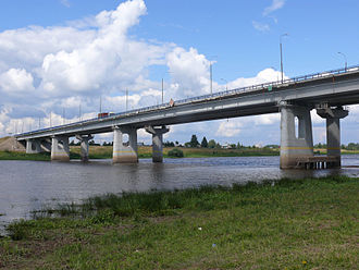 Novgorod Oblast - Bridge on the M10 Highway over the Volkhov River