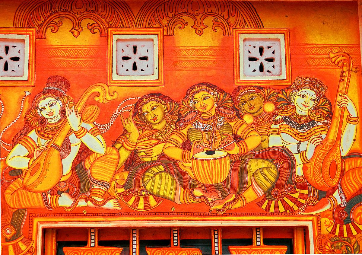Kottayam district wikipedia for Mural designs
