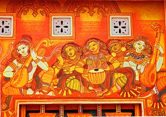 Kottayam district - Mural at Kottayam