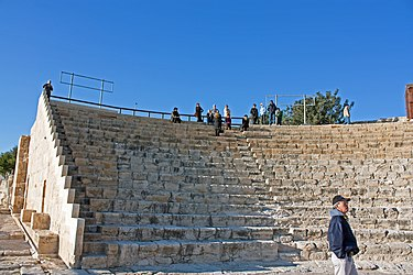 Kourion theatre northwest from stage 2010.jpg