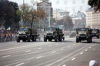 KrAZ-6322 during the Independence parade in Kiev, 2008.jpg