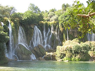 Tourism in Bosnia and Herzegovina - Kravice waterfalls