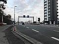 Kumamoto Prefectural Road No.227 in front of Kitaoka Shrine.jpg