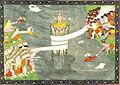Kurma Avatar of Vishnu. ca 1870.jpg