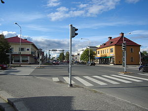 Kuusamo - Town centre