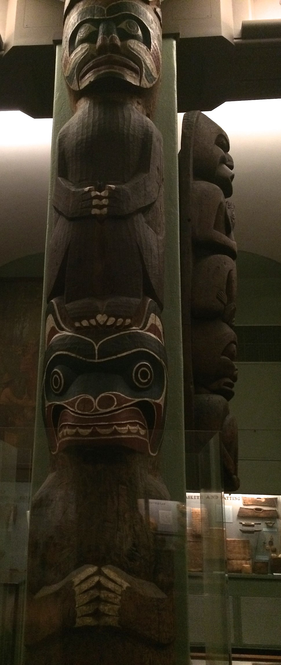 Kwakwaka'wakw House Post