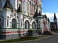 Kyiv Feofania - Cathedral entrance.jpg