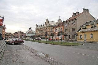 Lázně Bělohrad Town in Hradec Králové, Czech Republic