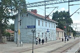 Lüleburgaz railway station