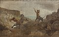 L.A. Schou - Centaurs Hunting Boars - KMS1951 - Statens Museum for Kunst.jpg