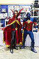 LBCC 2013 - Doctor Strange and Captain Marvel (11027576916).jpg