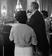 LBJ at Democratic Natl Convention 1960 ppmsca.03127 (cropped).jpg