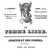 Image illustrative de l'article La Femme libre (brochure)