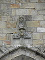 La Guerche-de-Bretagne (35) Basilique Collatéral sud Détail sculpté 01.JPG
