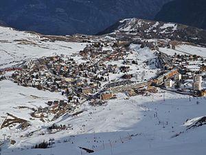Les Sybelles - Village of La Toussuire (2016)