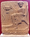 Laconian relief with heroised mortals or chthonian deities. 6th cent. B.C.jpg