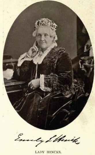 Robert Baldwin Sullivan - Image: Lady Emily Hincks by William Notman