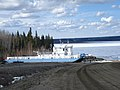 Lafferty Ferry dry docked for winter.jpg