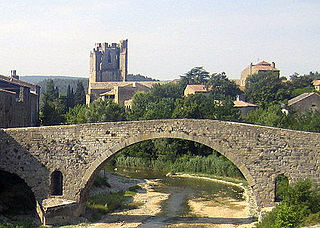 Lagrasse Abbey abbey located in Aude, in France