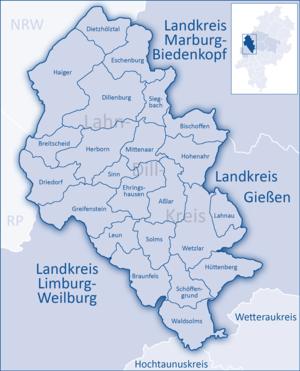 Lahn-Dill-Kreis - Image: Lahn Dill Kreis