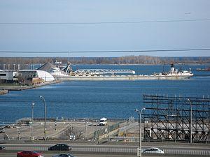 Lake freighter Mississagi in the Eastern Gap -g.jpg