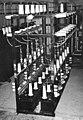Lakihegy adóállomás 1946, a 120 kW-os adó 20 kV-os egyenirányítói. Fortepan 56138.jpg