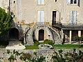 Lalinde maison de Montard escaliers.JPG