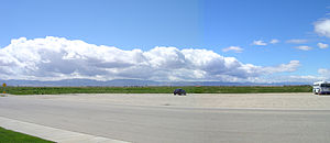 Antelope Valley - Panoramic view of Lancaster