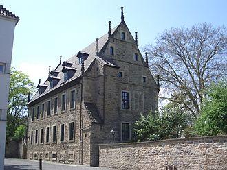 Stadthagen - Landsbergscher Hof (Public library)