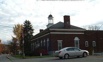 Lanesborough, Massachusetts - Lanesborough Town Hall