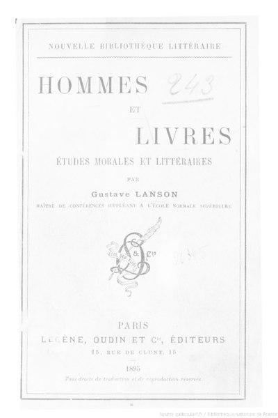 File:Lanson - Hommes et Livres, 1895.djvu