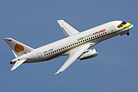 Lao Central Airlines Sukhoi Superjet 100-95 by Sergey Kustov.jpg