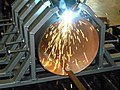 Laser welding of the pipeline.jpg