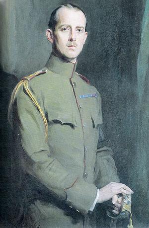 Prince Andrew of Greece and Denmark - Portrait by Philip de László, 1913
