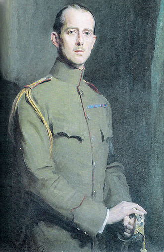 Prince Andrew of Greece and Denmark - Portrait by Philip de László, 1913