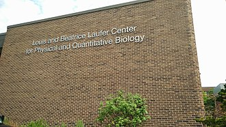 Louis and Beatrice Laufer Center for Physical and Quantitative Biology - Laufer Center Front Wall